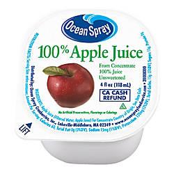 Ocean Spray Apple Juice 4 Oz