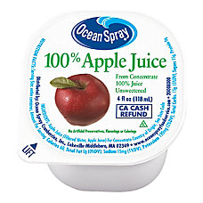 Ocean Spray Apple Juice 4 Oz
