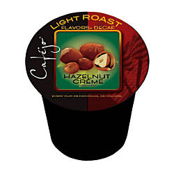 Cafejo Hazelnut Creme Decaffeinated Single Serve