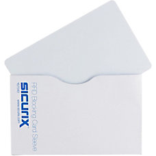SICURIX Smart Card RFID Blocking Sleeves