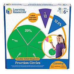 Learning Resources Double Sided Magnetic Fraction