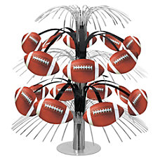 Amscan Foil Football Cascade Centerpiece Pack
