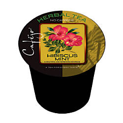 Cafejo Single Serve Tea Cups Hibiscus
