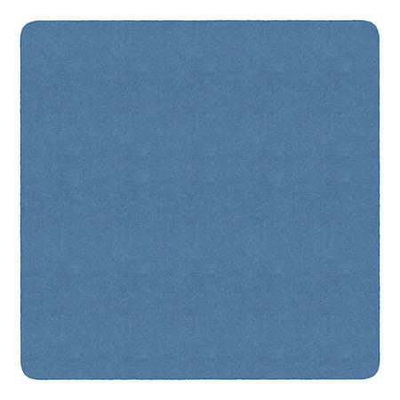 Flagship Carpets Americolors Rug, Square, 12' x 12', Blue Bird