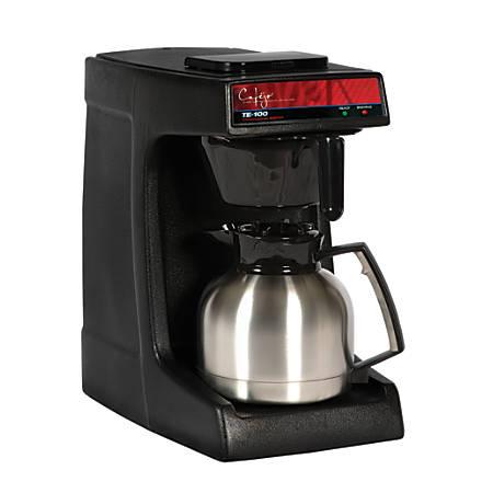Cafejo TE-116 Pourover Coffee Brewer, Black