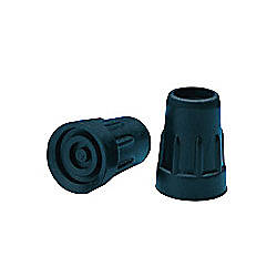 Carex Replacement Cane Tips Black 58