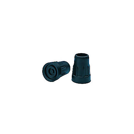 """Carex® Replacement Cane Tips, Black, 3/4"""""""