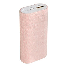 Ativa Power Bank 5200 mAh Pink
