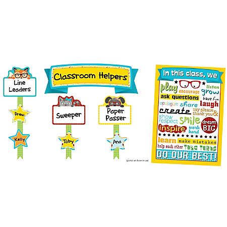 Carson-Dellosa Hipster Classroom Management Bulletin Board Set, Multicolor, Grades K-5