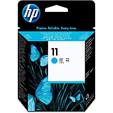 HP 11 Cyan Printhead C4811AN