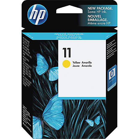 HP 11, Yellow Original Ink Cartridge (C4838A)