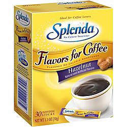 Splenda Flavor Blends For Coffee Hazelnut