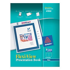 Avery Flexi View Presentation Book 12
