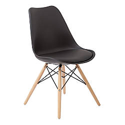 Ave Six Allen Guest Chair BlackNatural