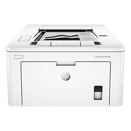 HP LaserJet Pro M203dw Wireless Monochrome Laser Printer, G3Q47A#BGJ