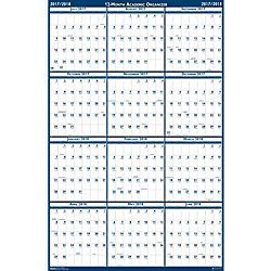 house of doolittle academic july june wall calendar julian monthly 1