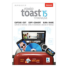 Roxio Toast 15 Titanium Mac Download