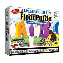 Brighter Child Alphabet Train Floor Puzzle