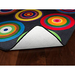 Flagship Carpets Color Rings Rug Rectangle