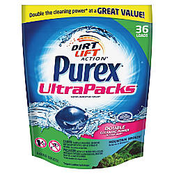 Purex UltraPacks Laundry Detergent Mountain Breeze