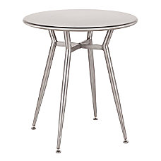 LumiSource Clara Industrial Dinette Table 30