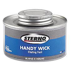 Sterno Handy Wick Chafing Fuel 4