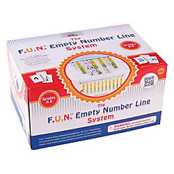 Learning Advantage FUN Empty Number Line