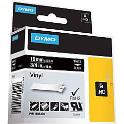DYMO Vinyl Label Tape DYM1805436 Permanent