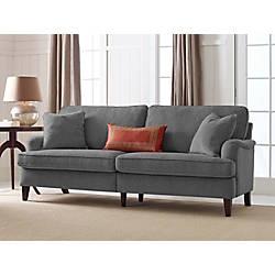Serta Carlisle Sofa With Pleated Arms