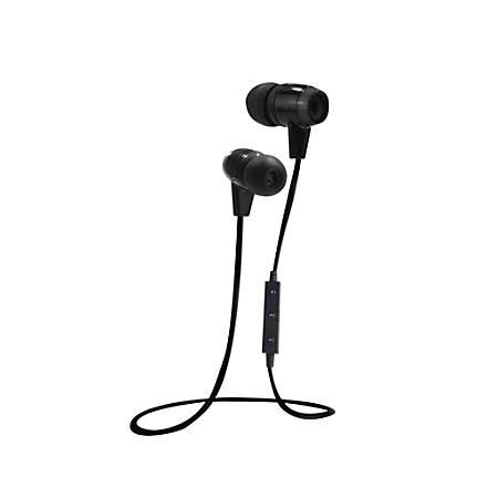 BYTECH Bluetooth® Earbuds, Black, BYAUBE110BK