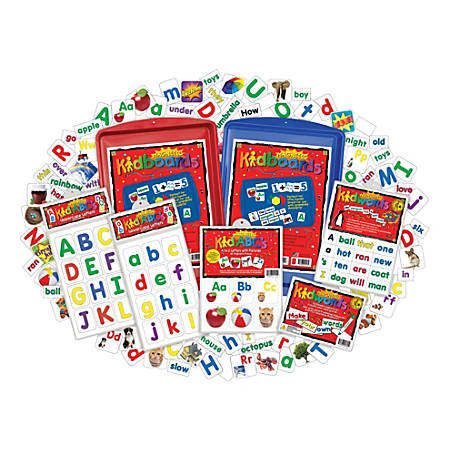 Barker Creek Learning Magnets® Language Arts Kit, Pre-K To Grade 6