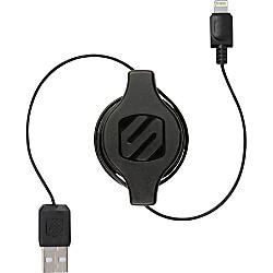 Scosche Retractable Charge Sync Cable for