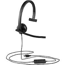 Logitech USB Headset Mono H570e Mono