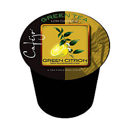 Cafejo Single Serve Tea Cups Green