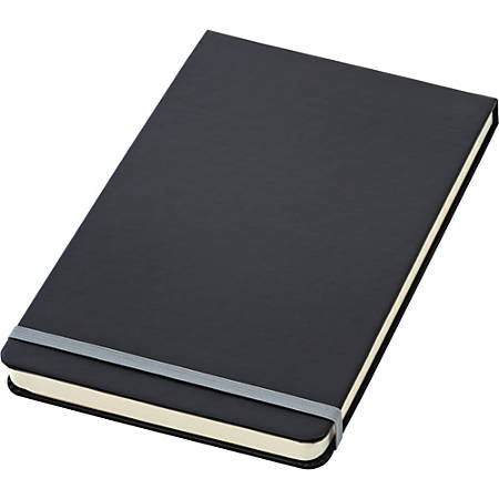 "Oxford™ Idea Collective® Top-Bound Wide-Ruled Journal, 5"" x 8-1/4"", 120 Sheets, Black"
