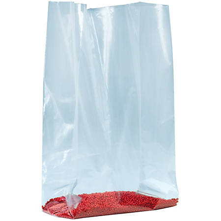 """Office Depot® Brand 1.5-Mil Gusseted Poly Bags, 8""""H x 3""""W x 15""""D, Case Of 1,000"""