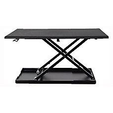 Luxor Level Up Pneumatic Adjustable Desk