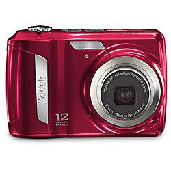 kodak easyshare c143 12 0 megapixel digital camera red by office