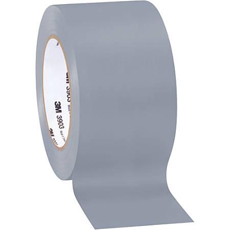 """3M™ 3903 Tartan™ Duct Tape, 3"""" Core, 2"""" x 50 Yd., Gray, Case Of 3"""