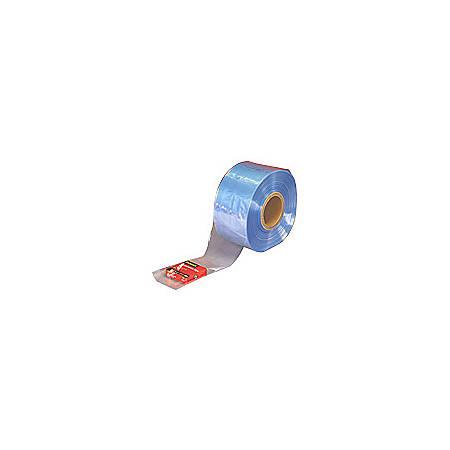 "PVC Shrink Tubing, 4"" x 100 Gauge x 1500', Pack Of 2"