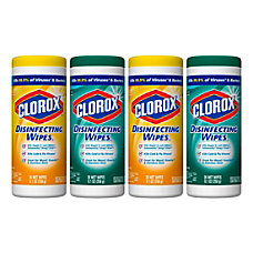 Clorox Disinfecting Wipes FreshCitrus Blend Scents