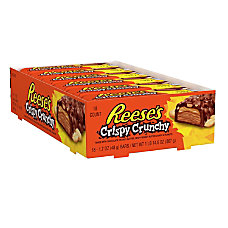 Reeses Peanut Butter Crispy Crunchy Bars