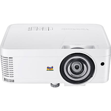 ViewSonic® 3D Ready Short Throw XGA DLP Projector, PS600X