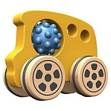 BeginAgain Toys Nubble Rumblers Wooden Bus