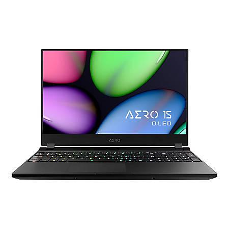"Gigabyte AERO 15 AERO 15 XA-7US2130SH 15.6"" Gaming Notebook - 1920 x 1080 - Core i7 i7-9750H - 16 GB RAM - 512 GB SSD - Windows 10 Home - NVIDIA GeForce RTX 2070 Max-Q with 8 GB, Intel UHD Graphics 630 - Bluetooth"