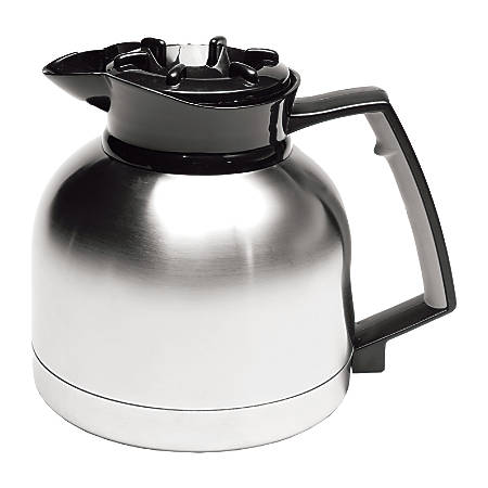 Service Ideas 1.9-Liter Professional Coffee Server, Stainless Steel