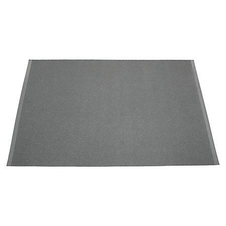 SKILCRAFT® Anti-Skid Indoor/Outdoor Floor Mat, 3' x 5', Slate Gray (AbilityOne 7510-01-392-5283)