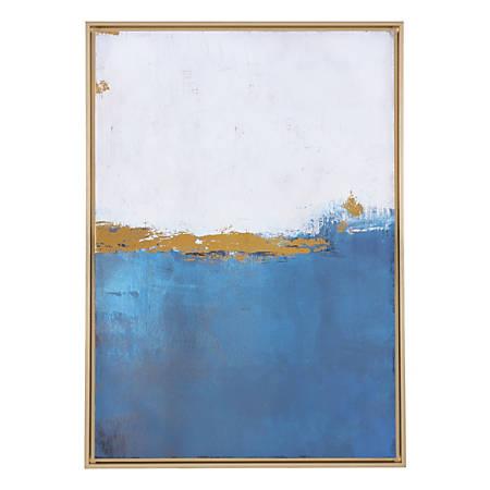 Zuo Modern Azure Canvas, Blue