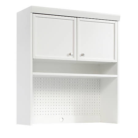 Sauder Craft Pro Series Hutch For Storage Cabinet Table White Item 5586287