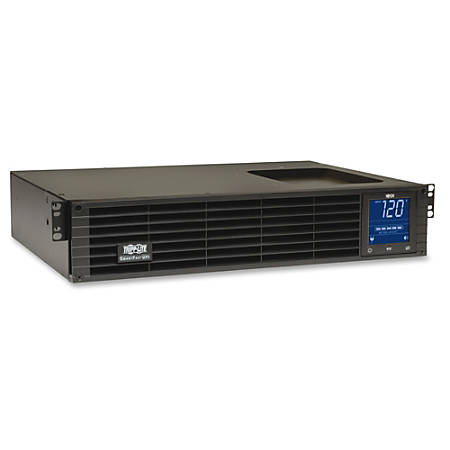 Tripp Lite UPS Smart 1000VA 700W Rackmount LCD Pure Sine Wave AVR USB 2URM